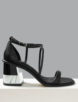 72041ebb0600 Feature Heel Sandals £55.00
