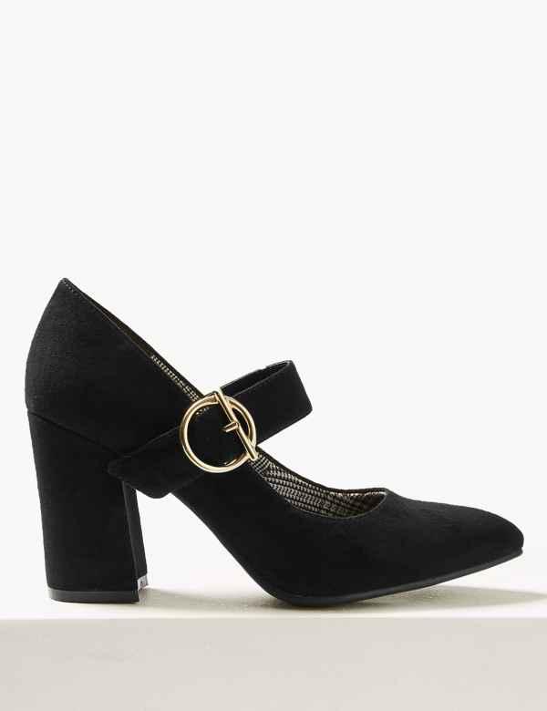 66ff873c096 Block Heels Court Shoes
