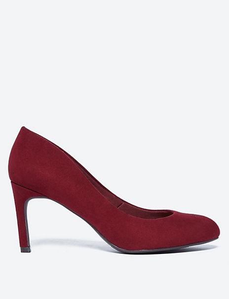 Stiletto Heel Almond Toe Court Shoes
