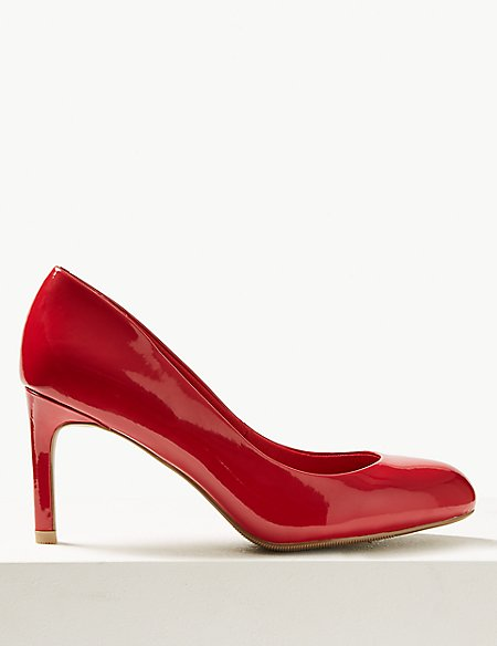 Stiletto Heel Almond Toe Court Shoes