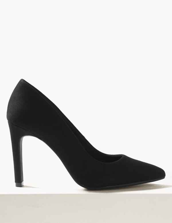 9f644246f Stiletto Heel Pointed Toe Court Shoes