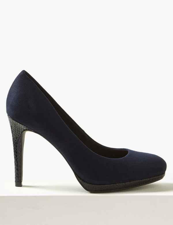 0fedc0b887e9 Stiletto Heel Court Shoes