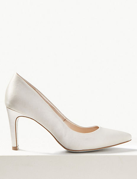 Stiletto Heel Pointed Toe Court Shoes