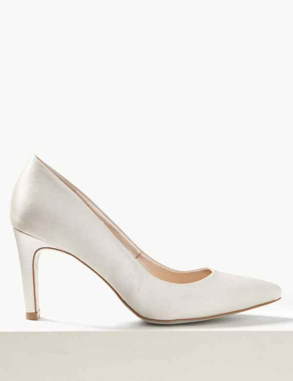 b1a017dcb890 Stiletto Heel Pointed Toe Court Shoes