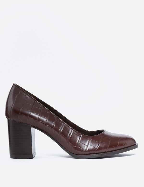 d10b886e40 Womens Block Heel Shoes & Boots| M&S
