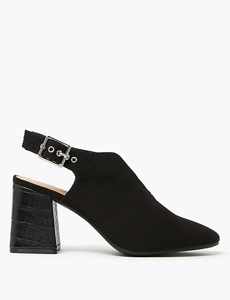 Block Heel Slingbacks