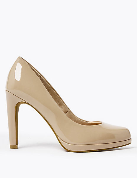 Stiletto Platform Court Shoes