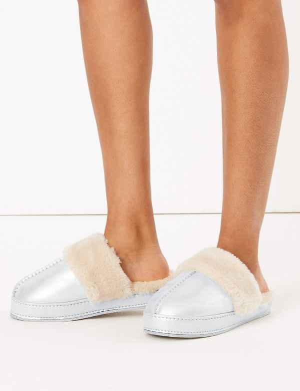 Mule slippers | Women's Shoes & Boots | M&S