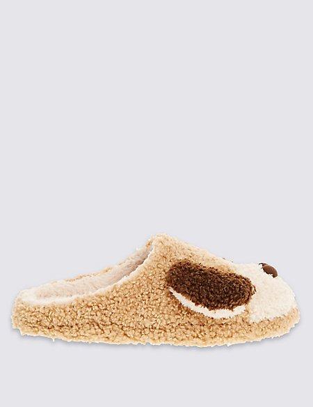 Cute Dog Mule Slippers