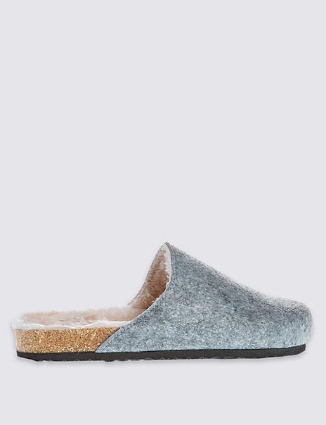 Cork Mule Slippers