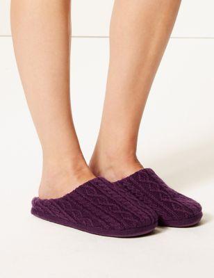 Womens Slippers M Amp S