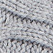 Cable Knit Slipper Boots, GREY, swatch