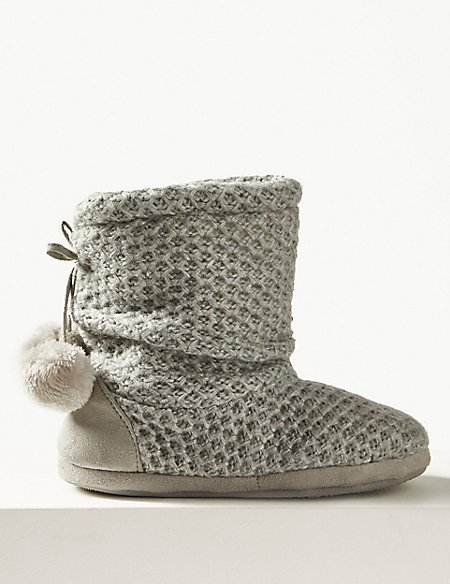 Snuggle Slipper Boots