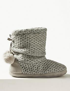 Snuggle Slipper Boots