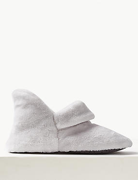 Turned Down Slipper Boots