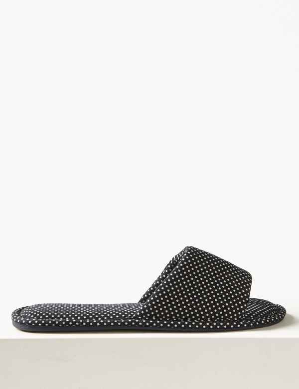 d56ea556171 All Over Spotted Mule Slippers