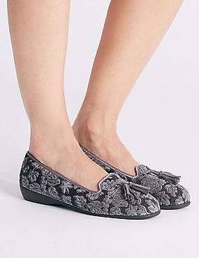 Tassel Ballerina Slippers
