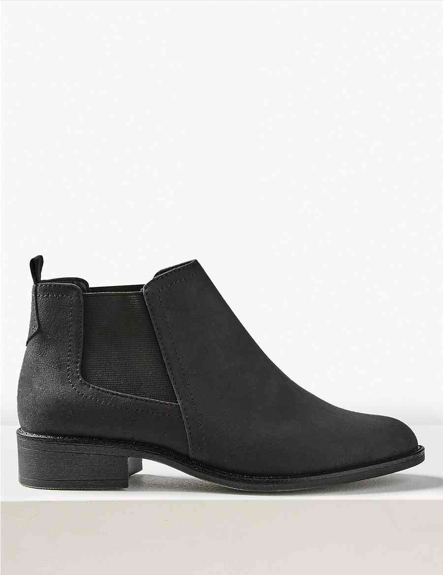 c98c1a63ae79 Wide Fit Chelsea Ankle Boots