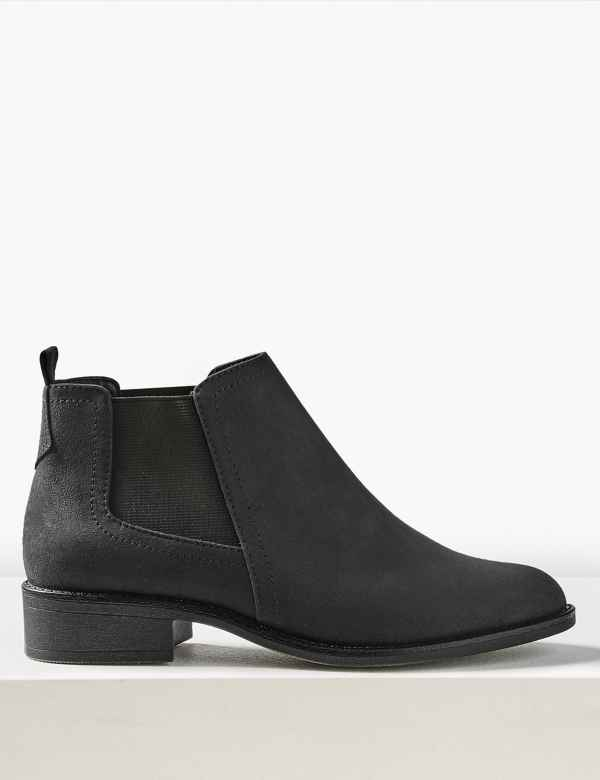 25e5776ed7d Wide Fit Chelsea Ankle Boots
