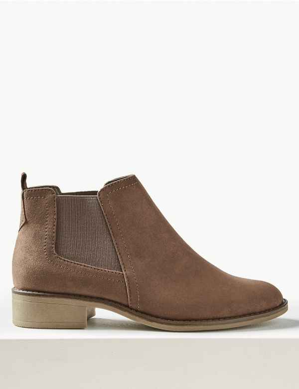 9b2e9726a3b613 Wide Fit Chelsea Ankle Boots
