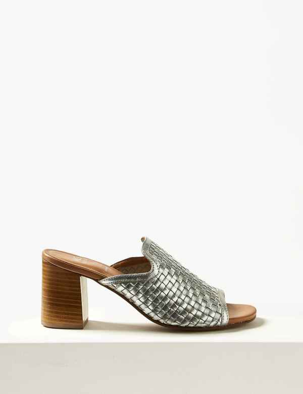 9180ed533 Leather Mule Sandals