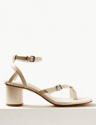 96d2673fe18 Leather Ankle Strap Sandals £39.50