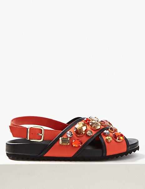 The Erica Jewelled Sandal