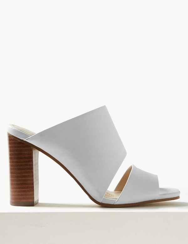f9d5ada88 Leather Mule Sandals