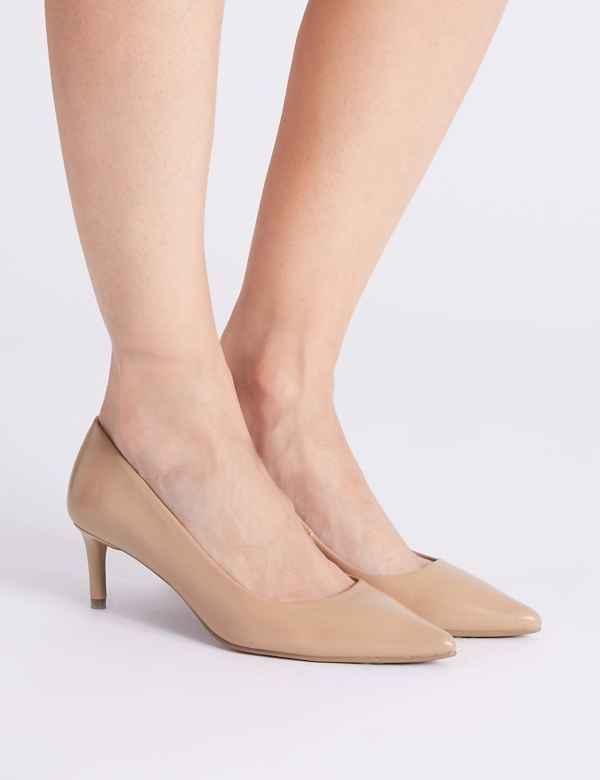 47b1cf9a505 Kitten Heel Shoes For Women| M&S