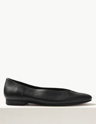 Leather Pumps by Marks & Spencer