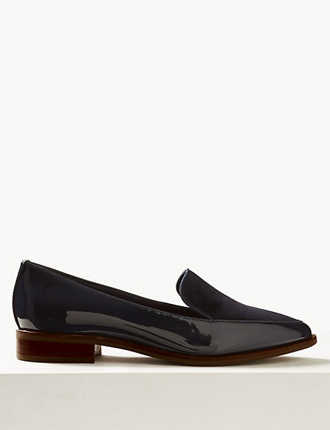 Leather & Suede Loafers
