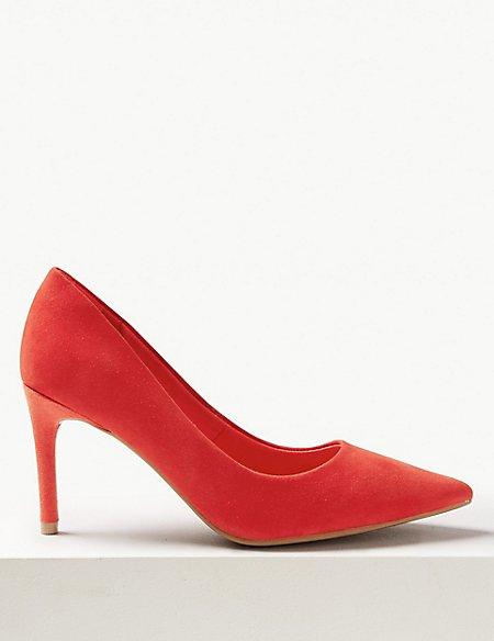 Stiletto Heel Mid-Point Court Shoes
