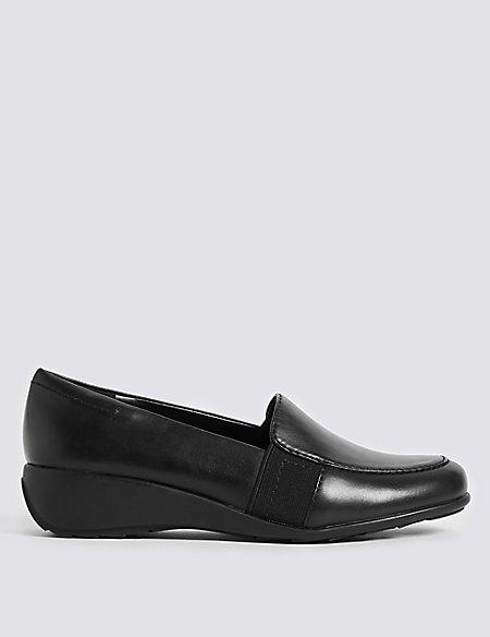 Wedge Heel Slip On