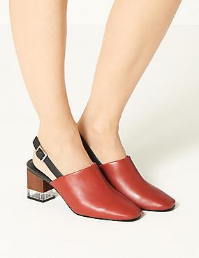 a691cb203e69 Kožené boty s nbsp páskem kolem paty