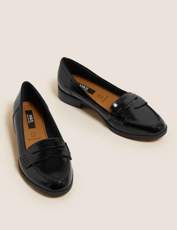 043900792f5 Leather Saddle Loafers