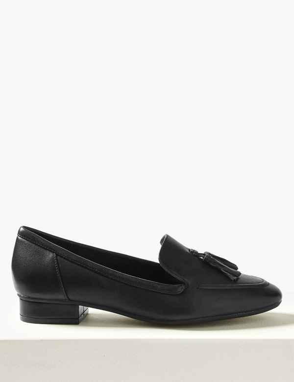 ef4abae0bd6 Leather Tassel Loafers