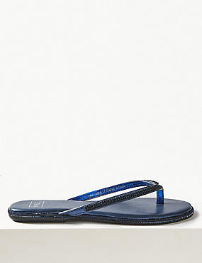 Diamanté Flip-flops Sandals