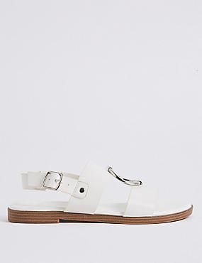 Round Trim Sandals