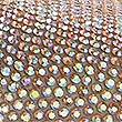 Instapsandalen met glittersteentjes, FLETS ORANJE, swatch