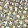 Instapsandalen met glittersteentjes, WIT MIX, swatch