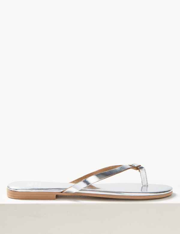3317930be51c Leather Flip-Flops