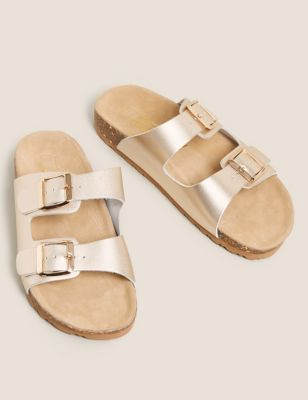 a25a471cb961 Leather Two Strap Sandals £22.50