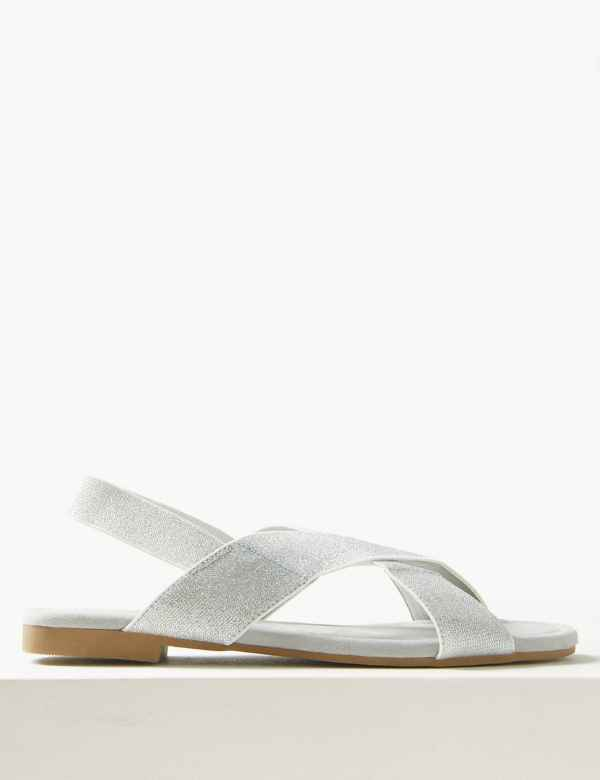 3a68040d7 Cross Over Strap Sandals. Online Only
