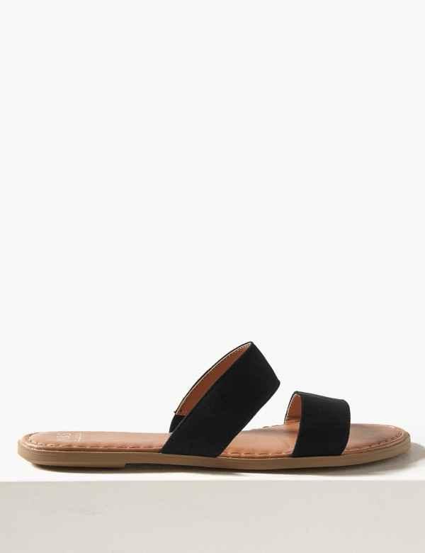 64e54caf7 Two Strap Mule Sandals