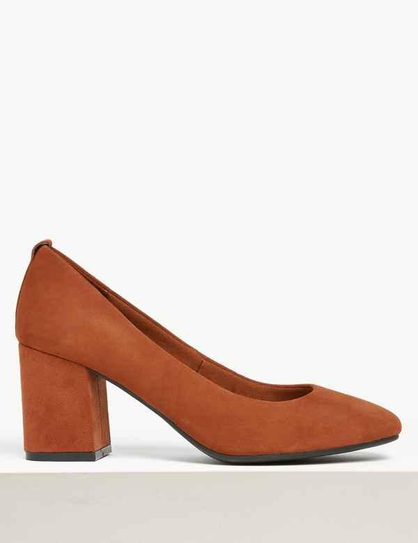 b89793327 Womens Block Heel Shoes & Boots| M&S