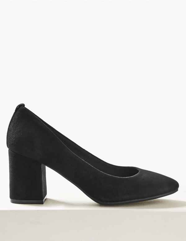 8b7bf6ebd80c5 Black Shoes | Shop Cool & Plain Womens Shoes Online| M&S