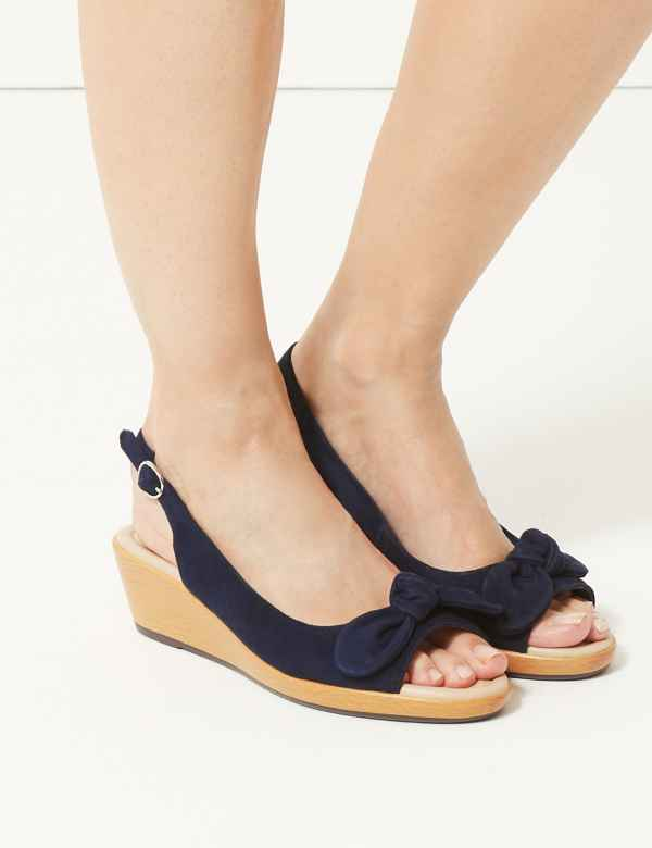 3cdb647ce94 ... Wedge Heel Slingback Sandals. Online Only