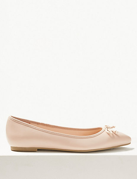 Pointed Toe Ballet Pumps