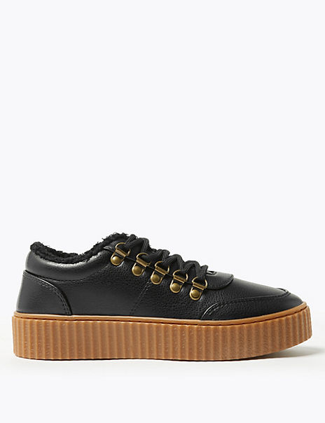 Lace Up Fastening Hiker Trainers