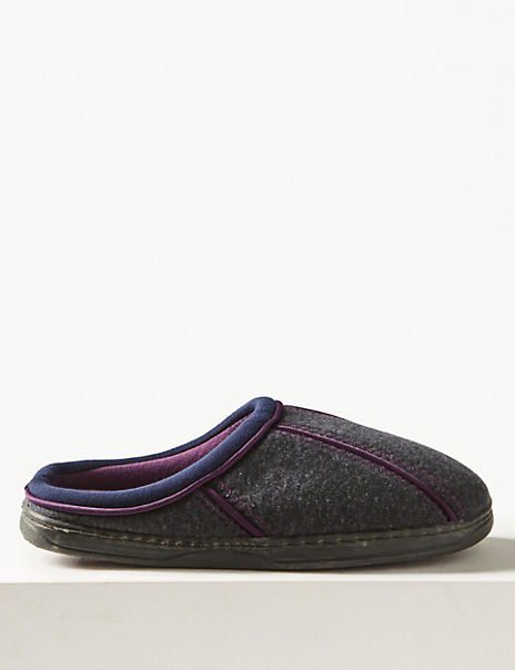 Sporty Mule Slippers